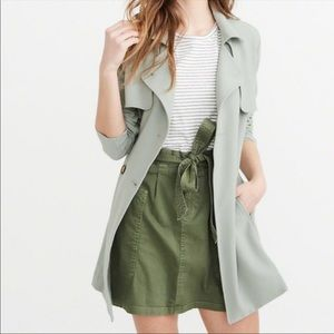 Like New Abercrombie & Fitch Trench Coat